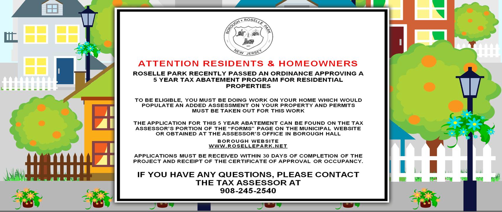 Abatement Information